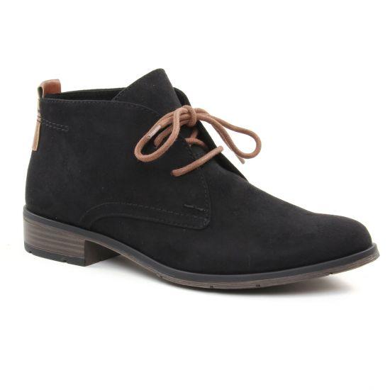 Bottines Et Boots Marco Tozzi 25101 Black, vue principale de la chaussure femme