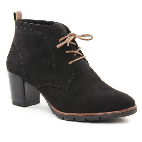 Bottines Et Boots Marco Tozzi 25107 Black, vue principale de la chaussure femme
