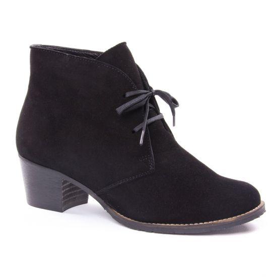 Bottines Et Boots Scarlatine 3290 Crute Noir, vue principale de la chaussure femme