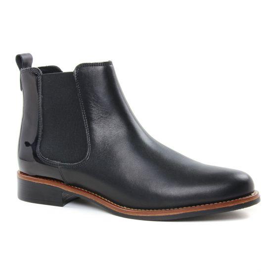 Bottines Et Boots Scarlatine 77545 An Noir Noir, vue principale de la chaussure femme