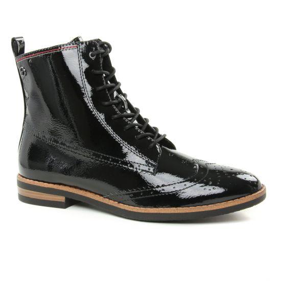 Bottines Et Boots Tamaris 25119 Black, vue principale de la chaussure femme