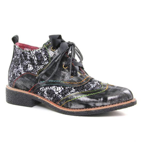 Bottines Et Boots Laura Vita Coralie 781 Noir, vue principale de la chaussure femme