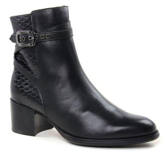 Bottines Et Boots Mamzelle Heresa Noir, vue principale de la chaussure femme