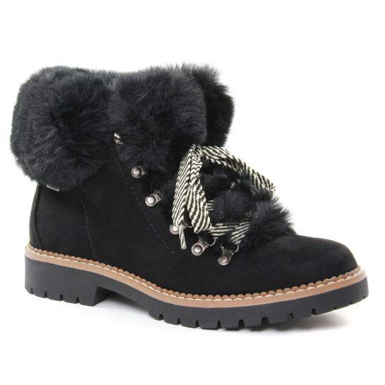 Bottines Et Boots Mtng 57462 Negro, vue principale de la chaussure femme