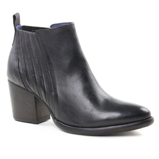 Bottines Et Boots Pintodiblu 81010 Noir, vue principale de la chaussure femme