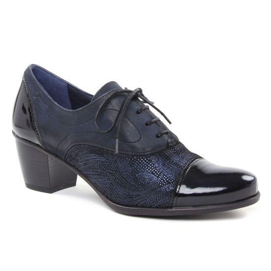 Chaussures À Lacets Dorking Brisda D7254 Navy, vue principale de la chaussure femme