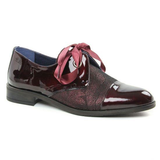 Chaussures À Lacets Dorking Vesna 7631 Bordeaux, vue principale de la chaussure femme