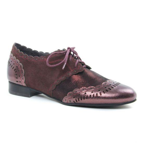 Chaussures À Lacets Mamzelle Zano Bordo, vue principale de la chaussure femme