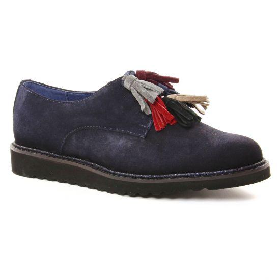 Chaussures À Lacets Pintodiblu 20467 Marine, vue principale de la chaussure femme