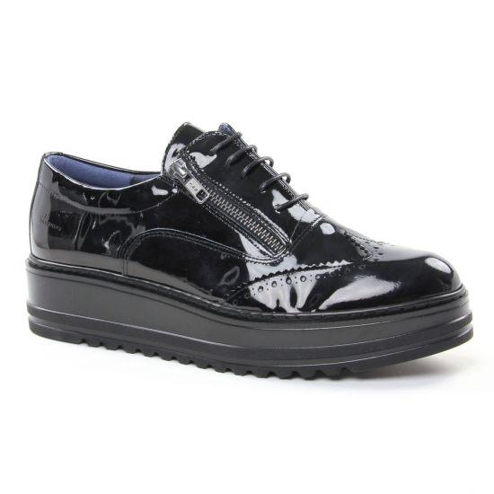 chaussures de sport 69a56 708a9 Dorking Brett D7724 Nor | derby compensées noir automne ...