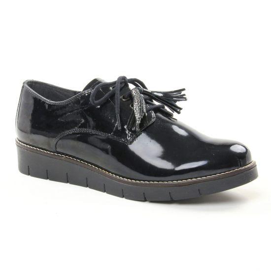 83008ac12b57d Chaussures À Lacets Geo Reino Zanacil n Noir