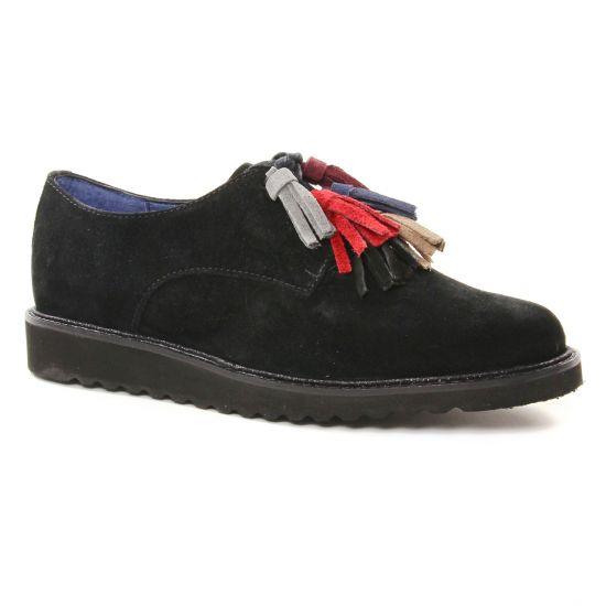 Chaussures À Lacets Pintodiblu 20467 Noir, vue principale de la chaussure femme