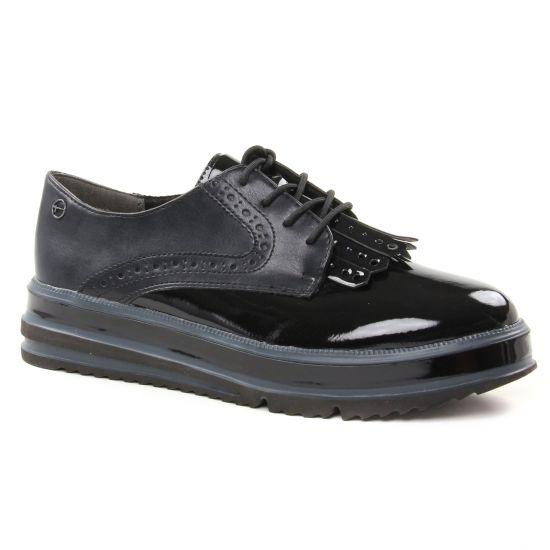 Chaussures À Lacets Tamaris 23728 Black, vue principale de la chaussure femme