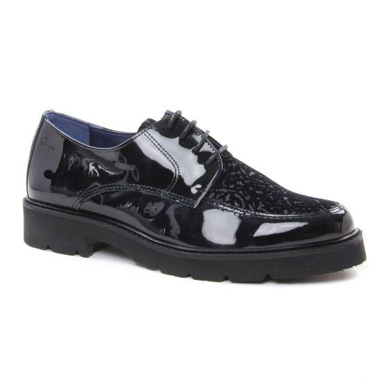 Chaussures À Lacets Dorking Venus D6937 Noir, vue principale de la chaussure femme