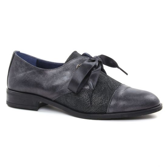 Chaussures À Lacets Dorking Vesna D7631 Noir, vue principale de la chaussure femme