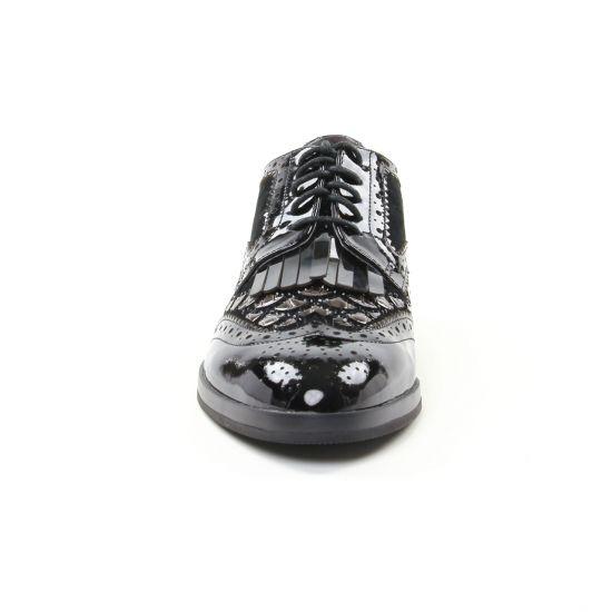 Chaussures À Lacets Mamzelle Silena Noir, vue principale de la chaussure femme