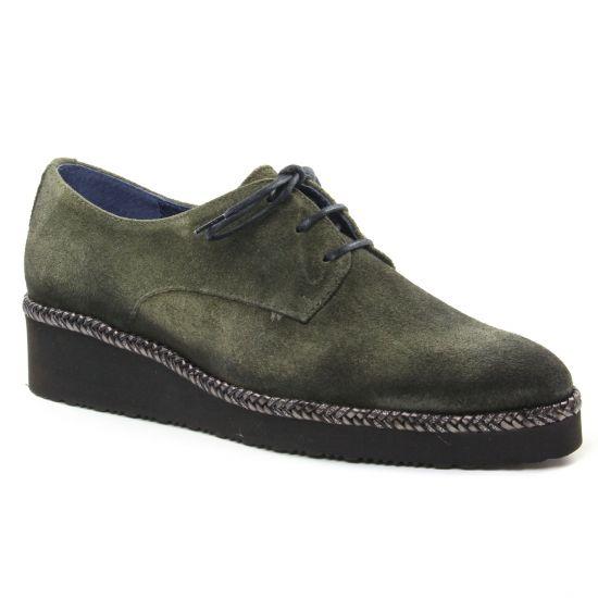 Chaussures À Lacets Pintodiblu 20462 Kaki, vue principale de la chaussure femme