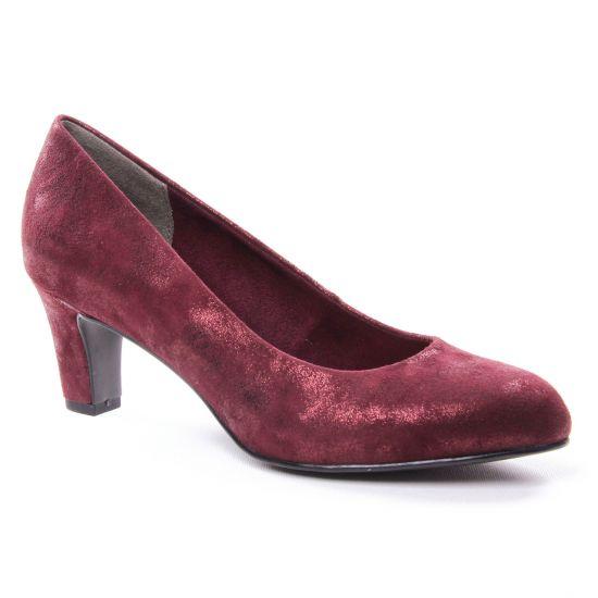 Escarpins Tamaris 22418 Bordeaux, vue principale de la chaussure femme