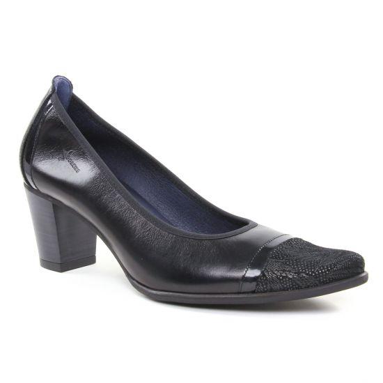Escarpins Dorking Deisy D7588 Noir, vue principale de la chaussure femme