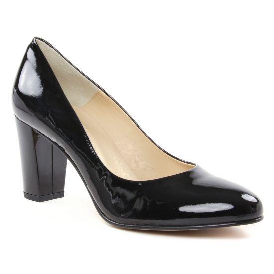Escarpins Perlato 10323 Vernis Noir, vue principale de la chaussure femme