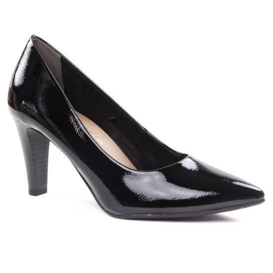 Escarpins Tamaris 22409 Black Patent, vue principale de la chaussure femme