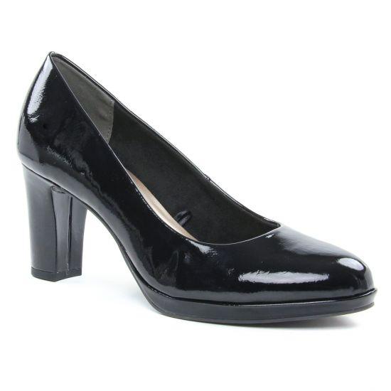 Escarpins Tamaris 22480 Black Patent, vue principale de la chaussure femme