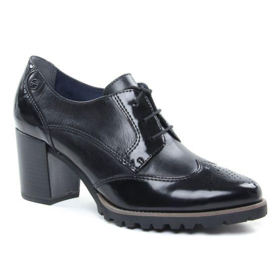 Chaussures À Lacets Tamaris 23302 Black, vue principale de la chaussure femme