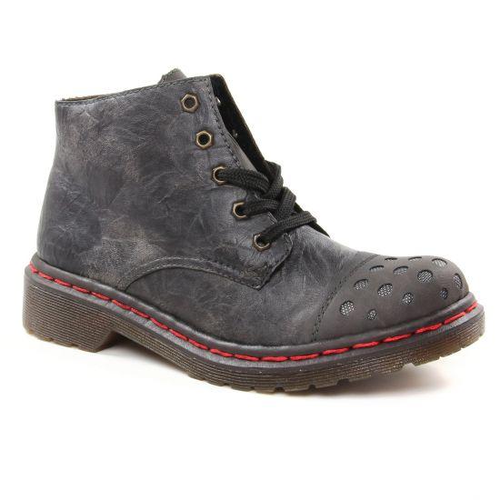 Bottines Et Boots Rieker M8243-46 Fumo, vue principale de la chaussure femme