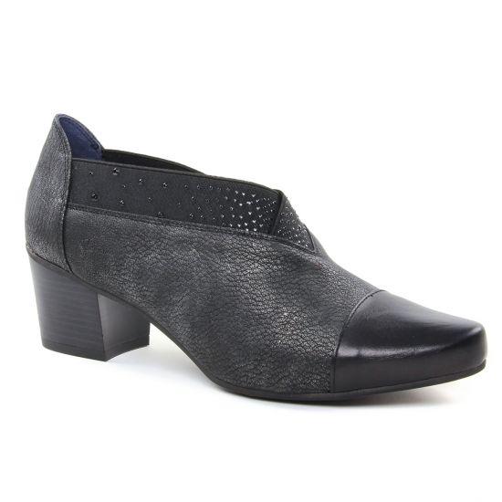 Bottines Et Boots Dorking Nir D7659 Noir, vue principale de la chaussure femme