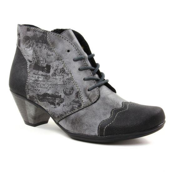 Bottines Et Boots Rieker Y7234-00 Black, vue principale de la chaussure femme