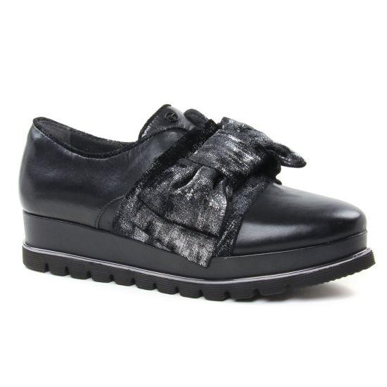 Chaussures À Lacets Tamaris 24700 Black, vue principale de la chaussure femme