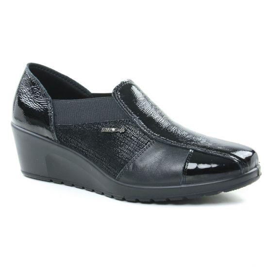 Mocassins Enval 2258000 Nero, vue principale de la chaussure femme