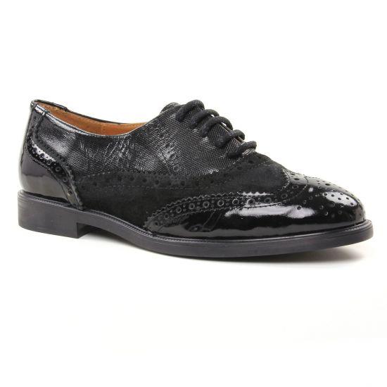 Chaussures À Lacets Maria Jaen 7611 Micro Negro, vue principale de la chaussure femme