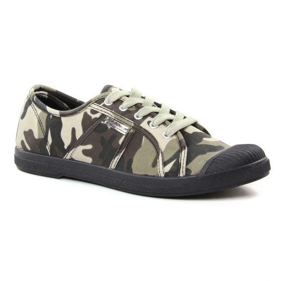 Tennis Et Baskets Mode Les Tropeziennes Chaz Gris Camouflage, vue principale de la chaussure femme