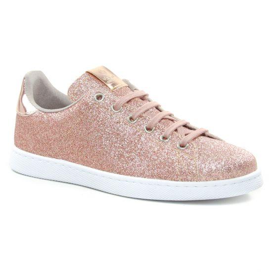 Tennis Et Baskets Mode Victoria 1125169 Rose, vue principale de la chaussure femme