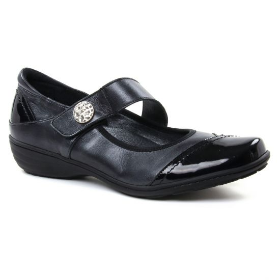 Babies Geo Reino Inbacal Noir, vue principale de la chaussure femme
