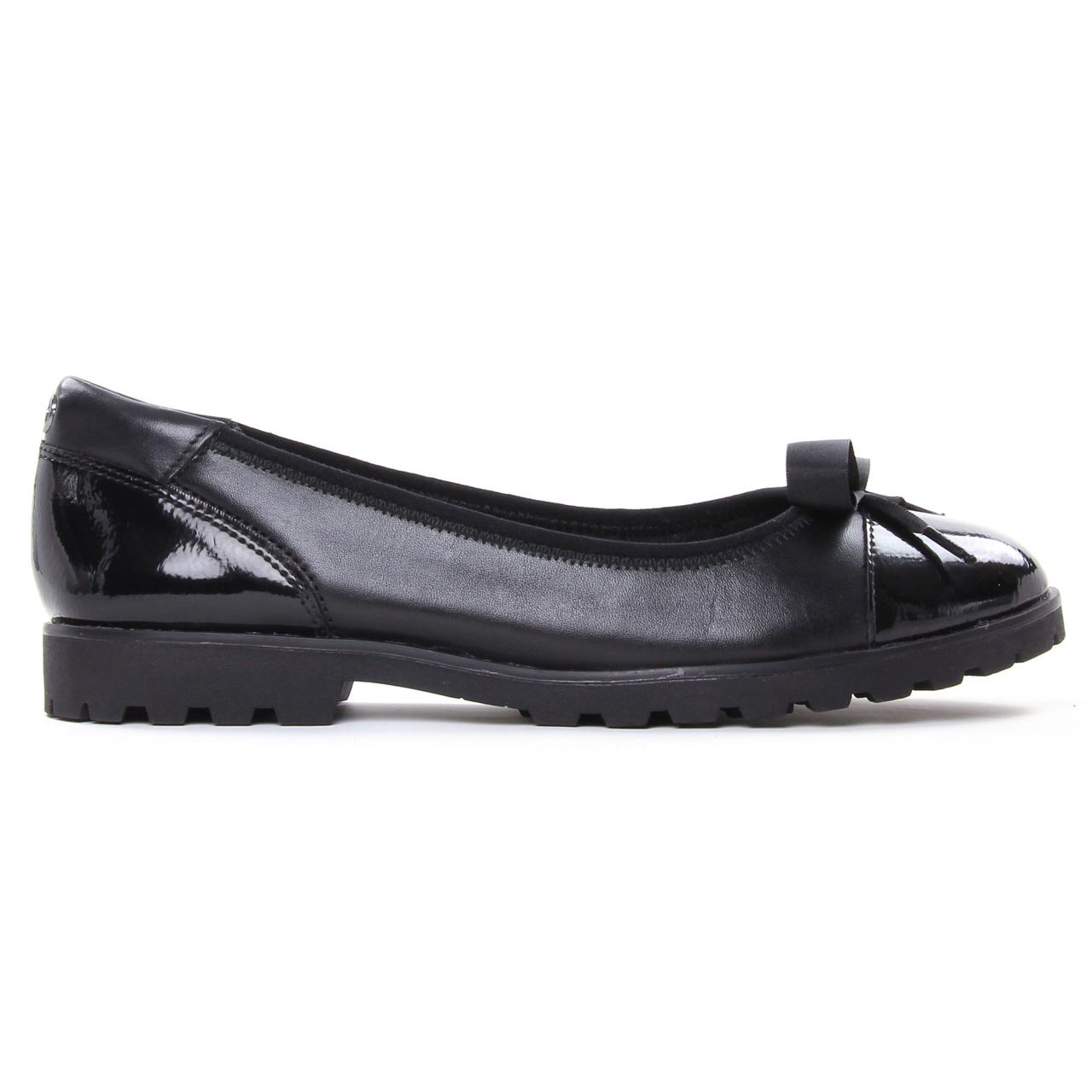 Tamaris 22100 Black Comb | ballerine confort noir automne