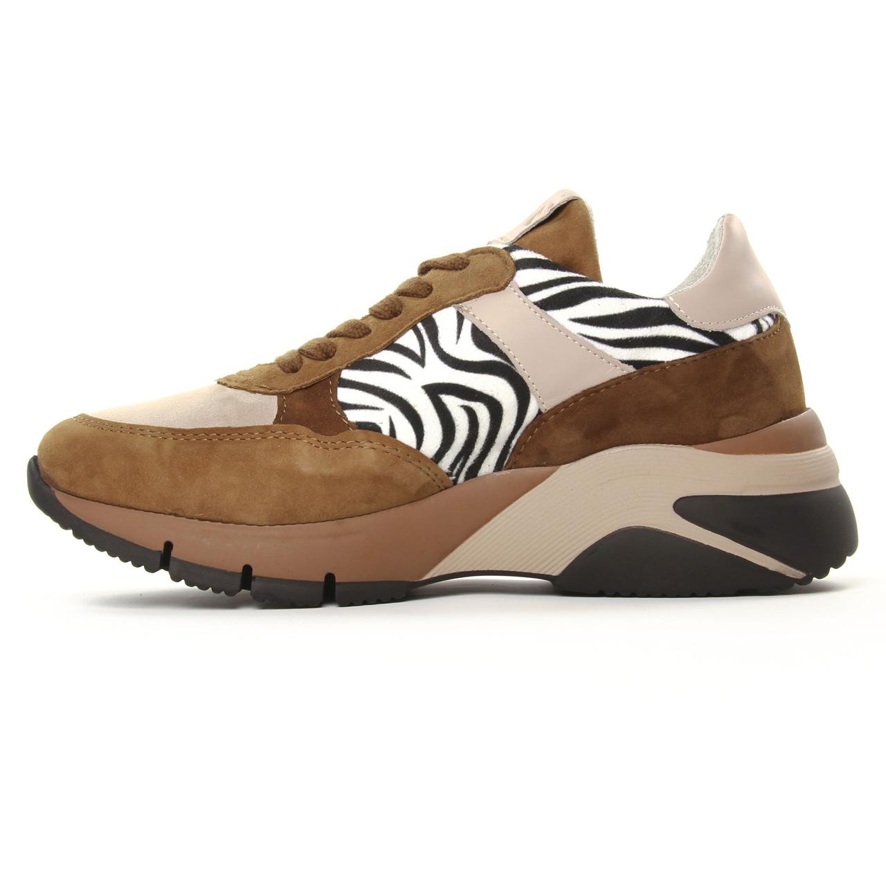 Tamaris 23782 Cognac Zebra | basket mode marron multi