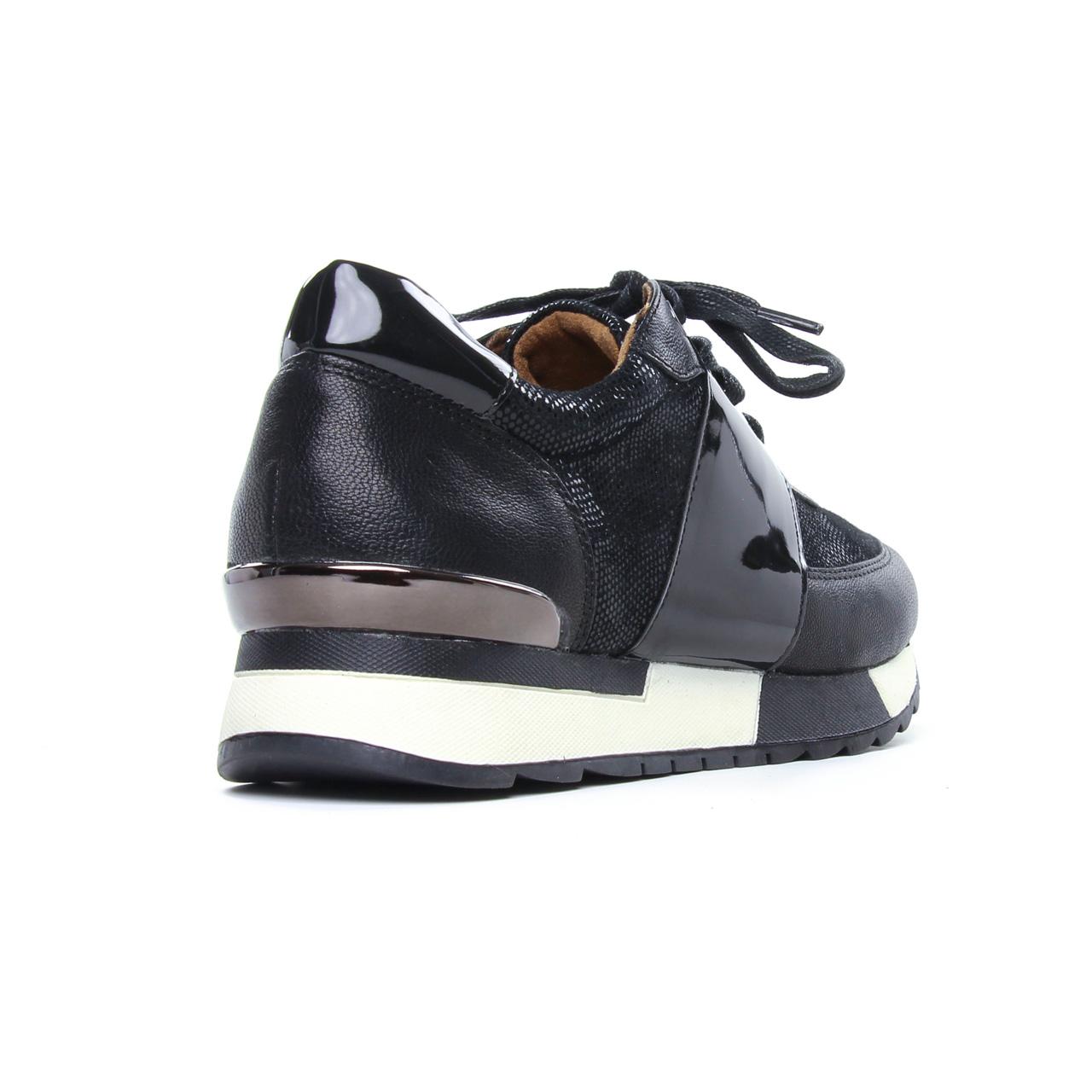 Tamaris 23739 Black   basket mode noir argent automne hiver