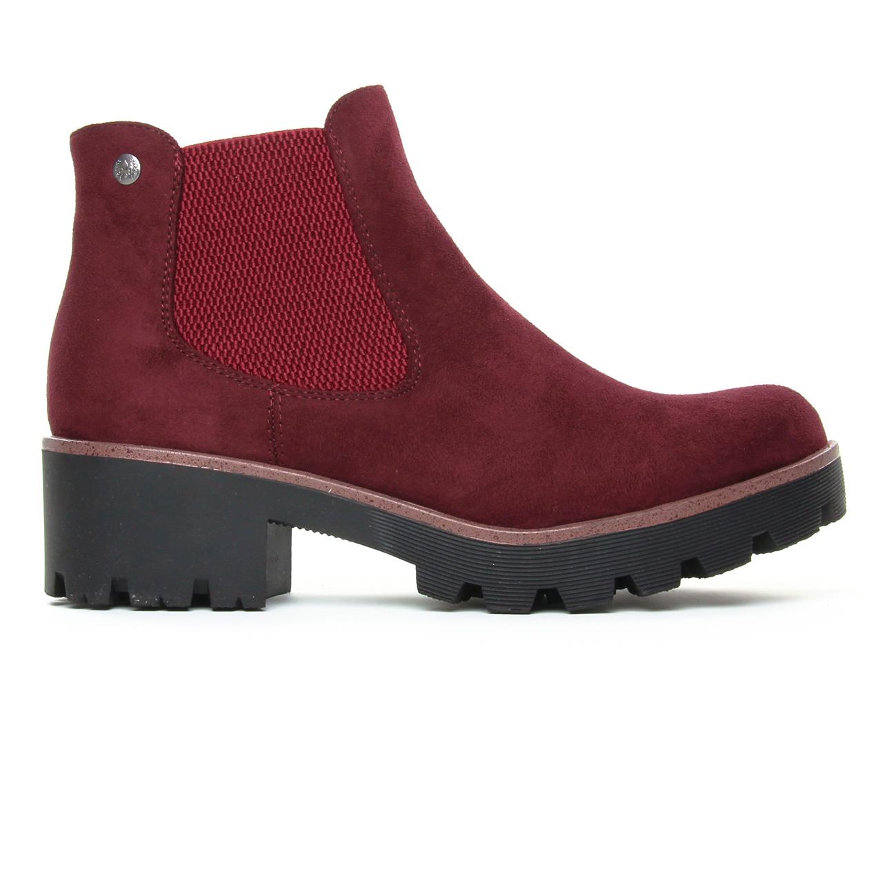 Rieker 99284 35 Vino   boot élastiquées bordeaux automne