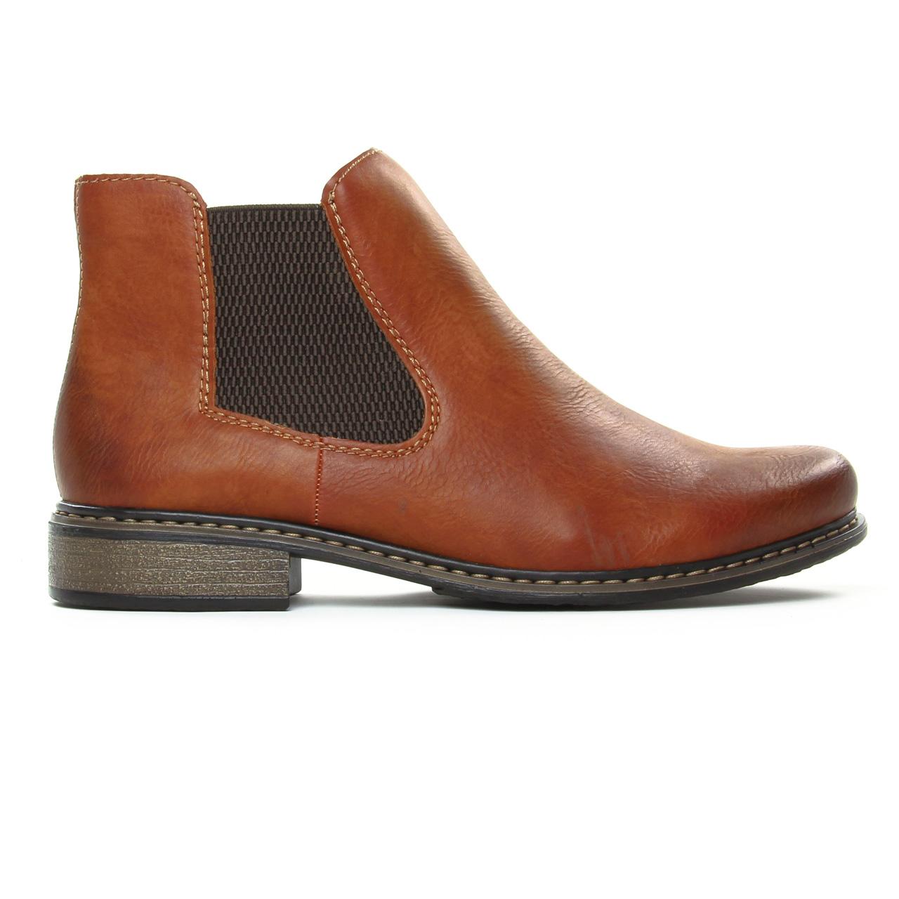 Rieker Z4994 24 Brown   boot élastiquées marron automne