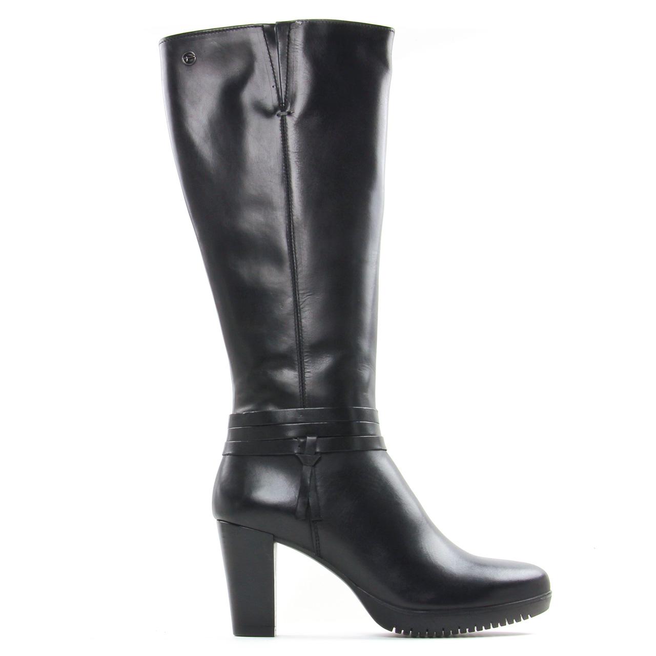 mode en botte noir femme