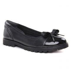 Chaussures femme hiver 2019 - ballerines confort tamaris noir
