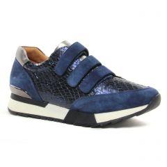 baskets-mode bleu marine: même style de chaussures en ligne pour femmes que les Marco Tozzi