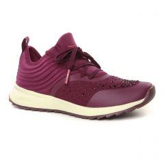 baskets-mode bordeaux: même style de chaussures en ligne pour femmes que les Remonte