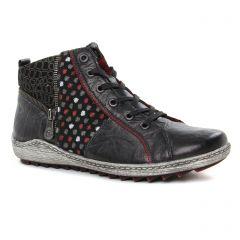 baskets-mode noir multi: même style de chaussures en ligne pour femmes que les Remonte