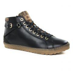 Chaussures femme hiver 2019 - baskets mode Pikolinos noir