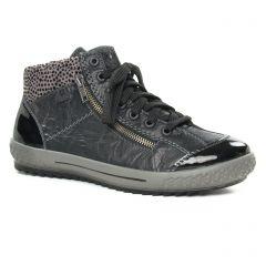 Rieker M6143-01 Schwarz : chaussures dans la même tendance femme (baskets-mode noir) et disponibles à la vente en ligne