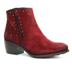 Chaussures femme hiver 2019 - boots Dorking rouge