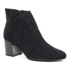 boots-confort noir: même style de chaussures en ligne pour femmes que les Les Tropéziennes